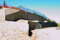 6000 Campbell Retaining Walls, Tucson Arizona