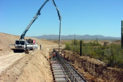 Continental Reserve Retaining Walls, Marana Arizona