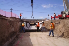 Valencia Road Reconstruction Retaining Walls, Tucson Arizona