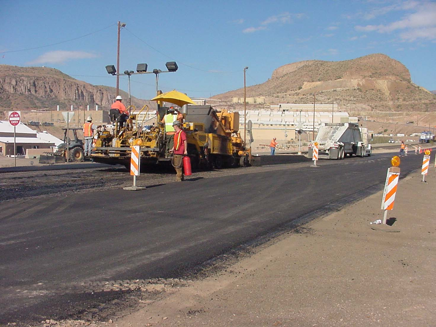 US 191 Reconstruction, Morenci, Arizona