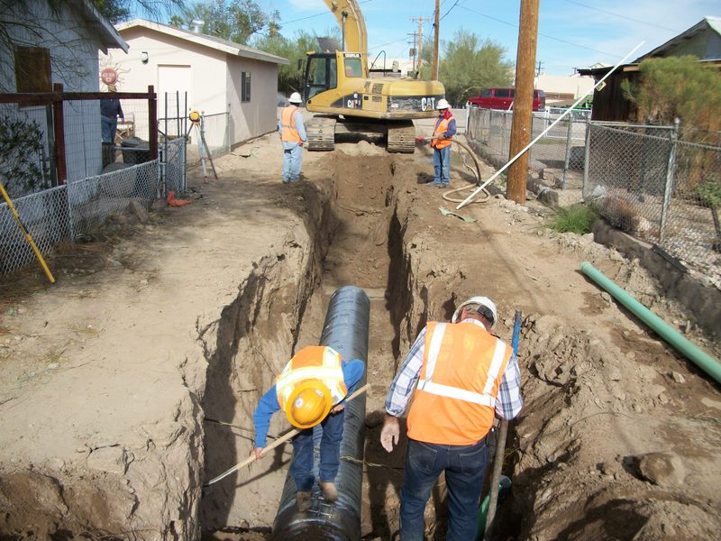 Sanitary Sewer Replacement, Ajo, Arizona