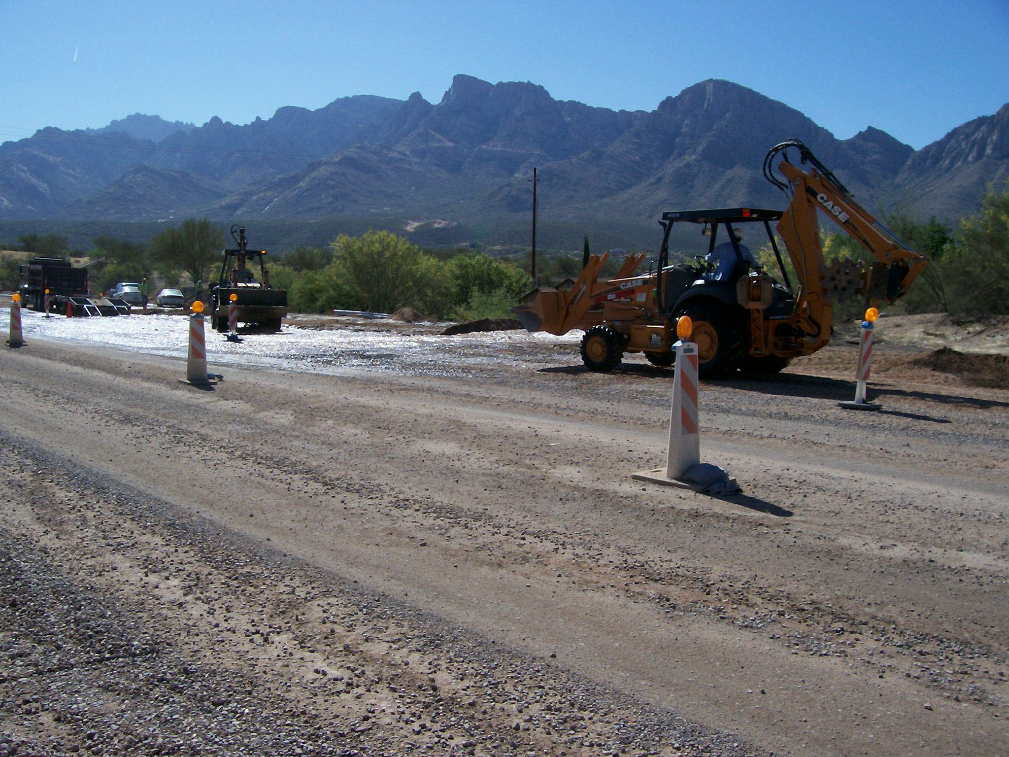 First Avenue Reconstruction, Oro Valley, Arizona