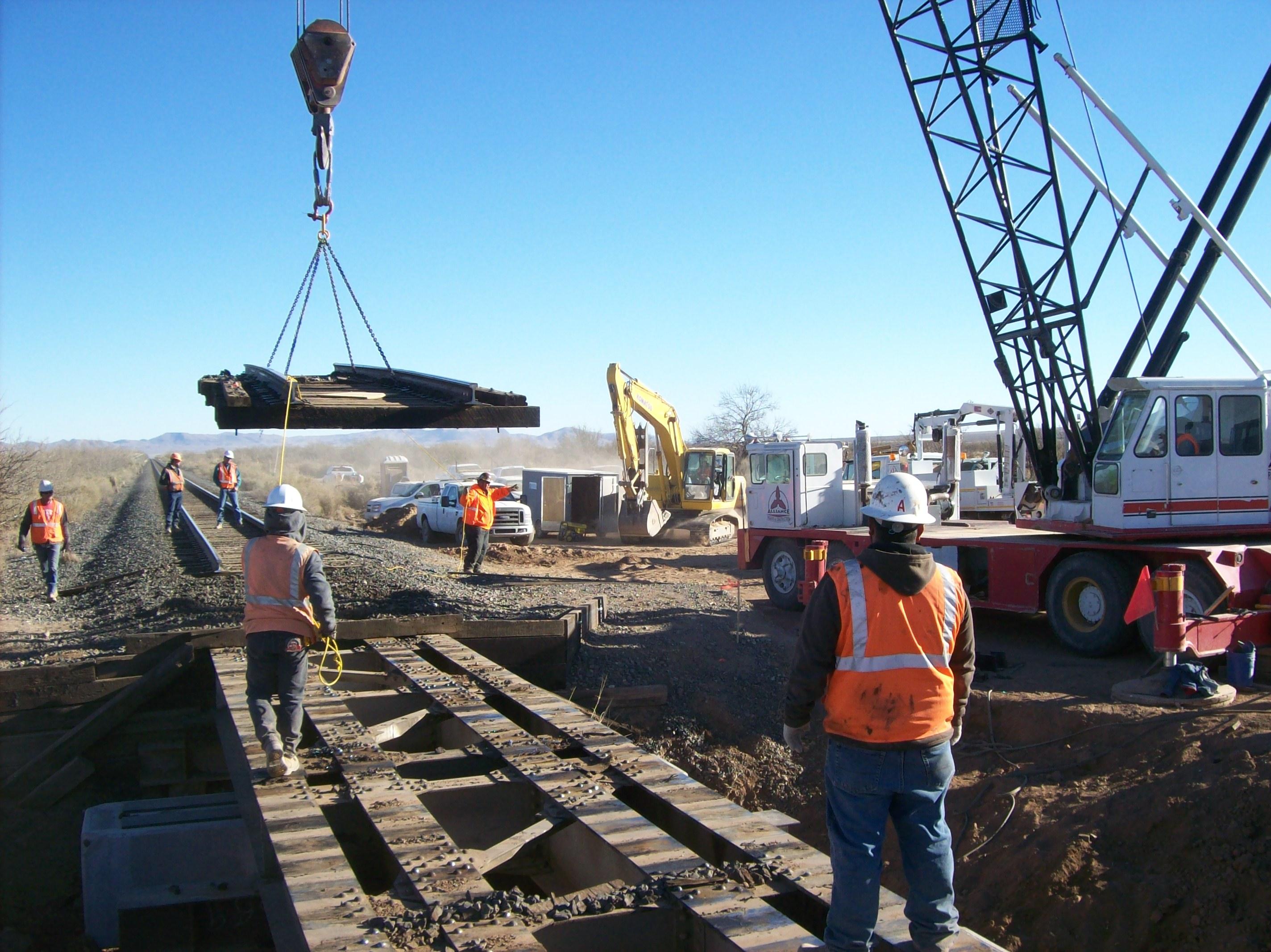 Valentine Sub Bridges Replacement, Van Horn, Texas