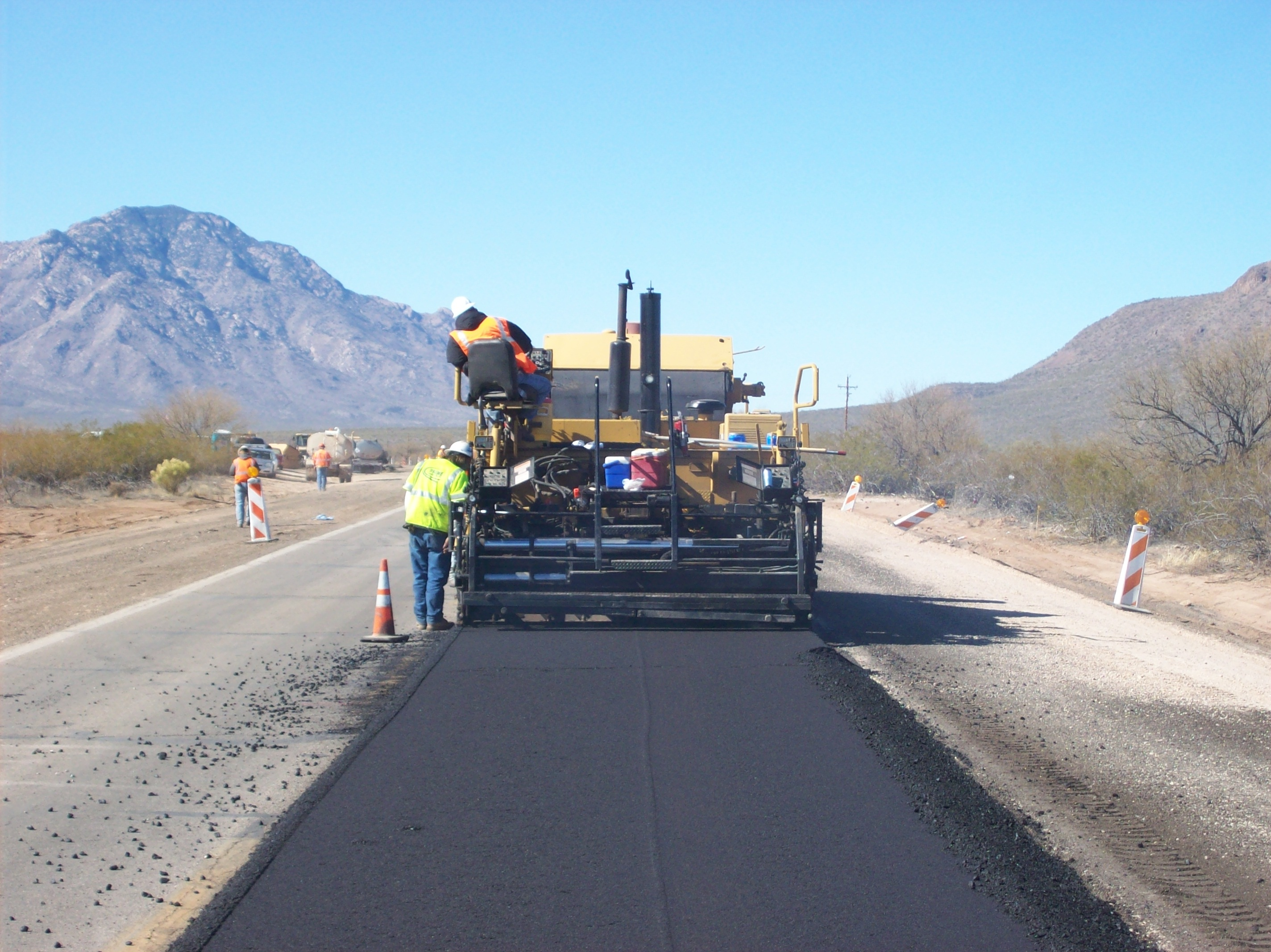 State Route 86 Widening, Robles Junction, Arizona