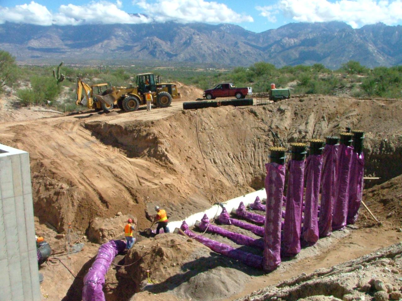 Pump Station & 1.5M Gal Reservoir, Oro Valley, Arizona
