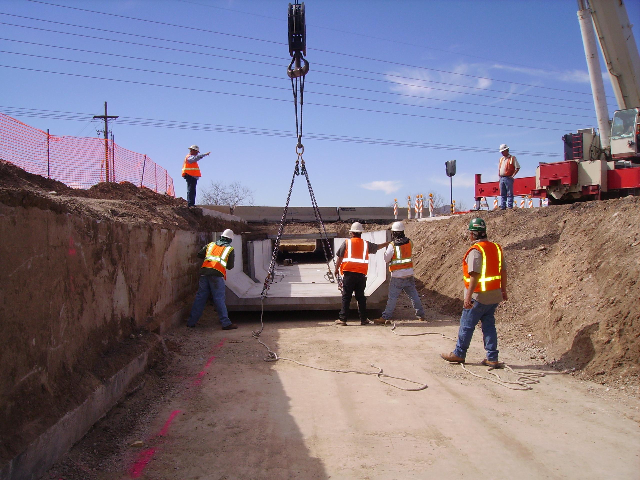 Valencia Road Reconstruction Retaining Walls, Tucson, Arizona