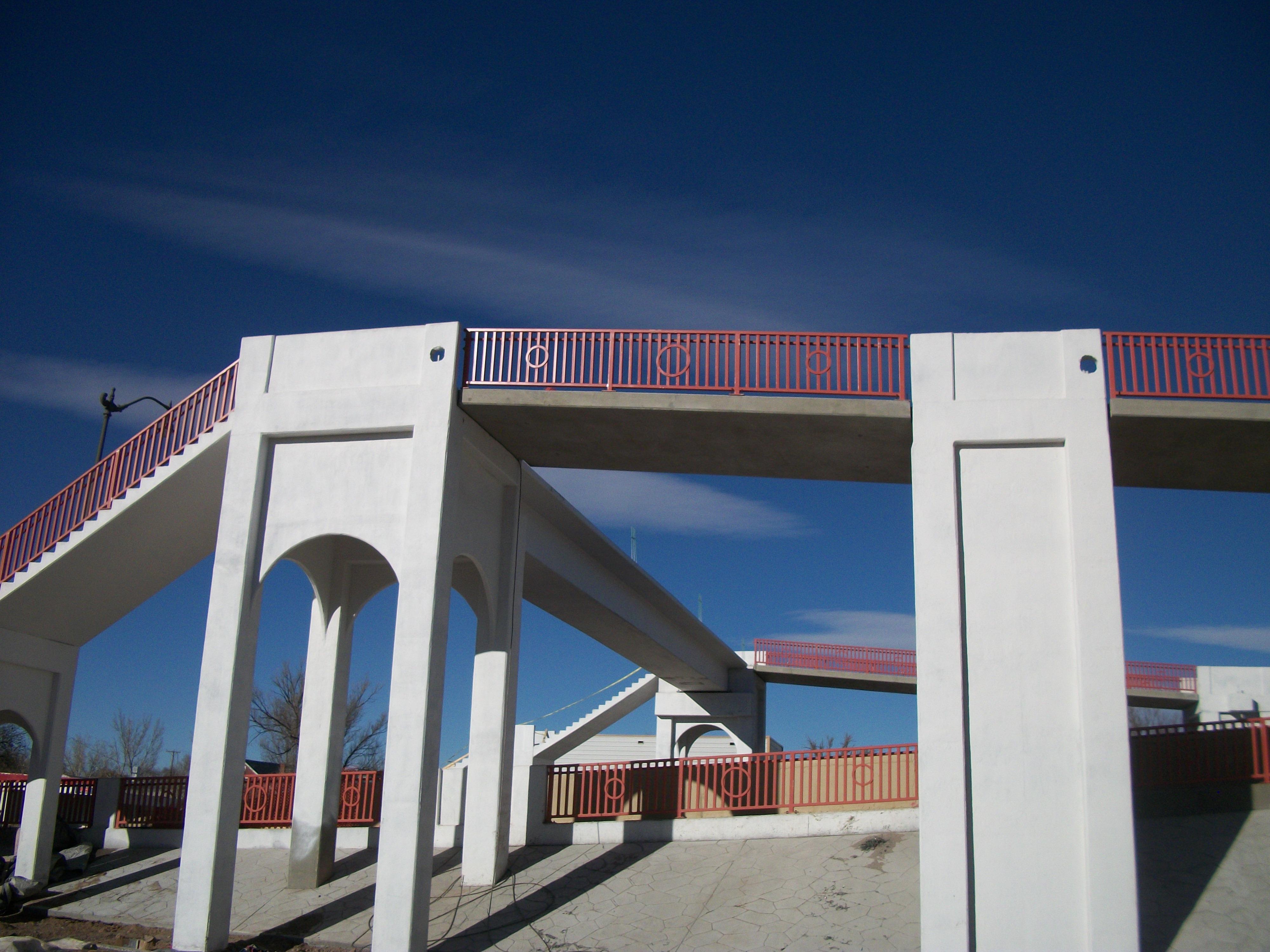 Reinken Road Pedestrian Bridge, Belen, New Mexico