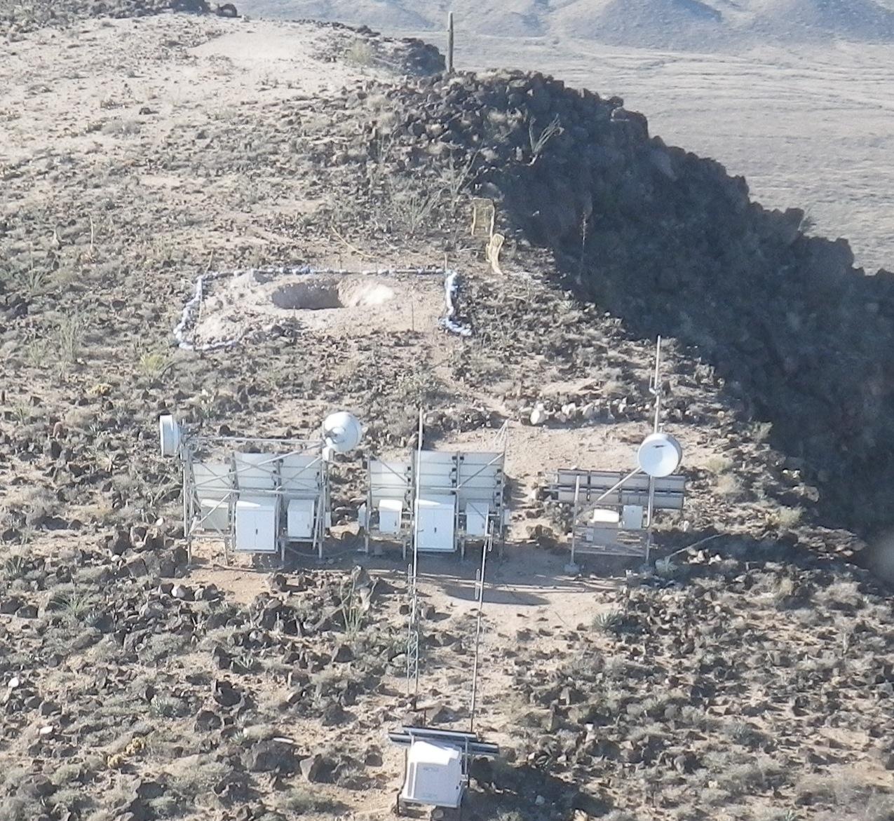 Growler Mountain Backfill, Ajo, Arizona