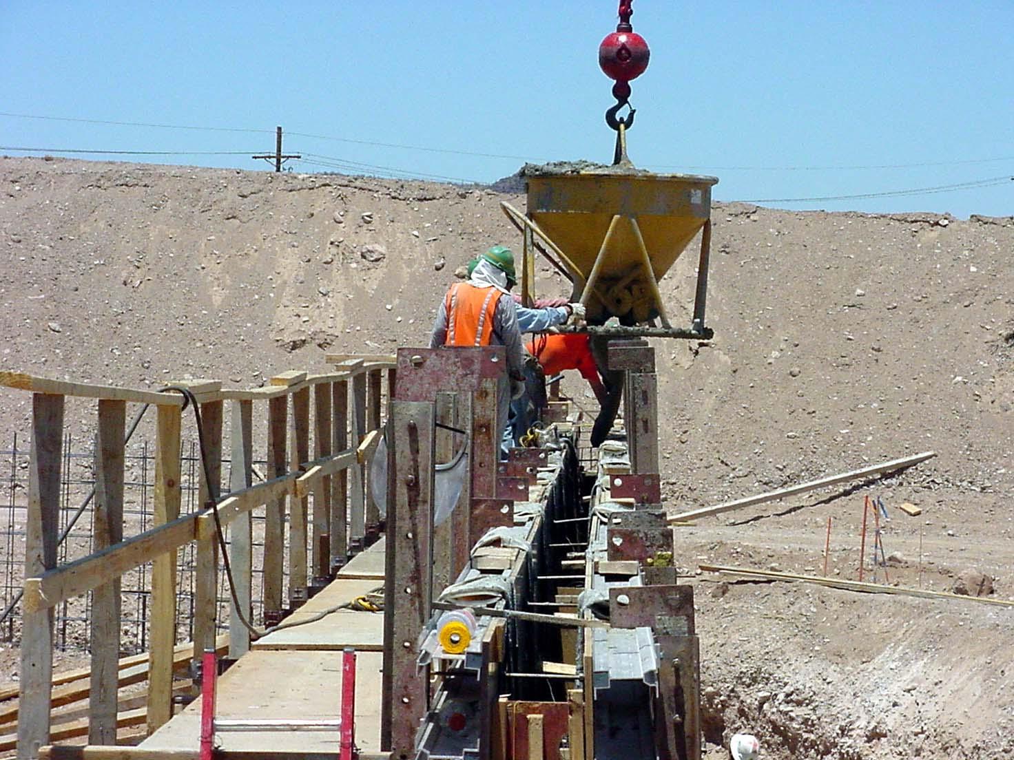 Continental Reserve Retaining Walls, Marana, Arizona