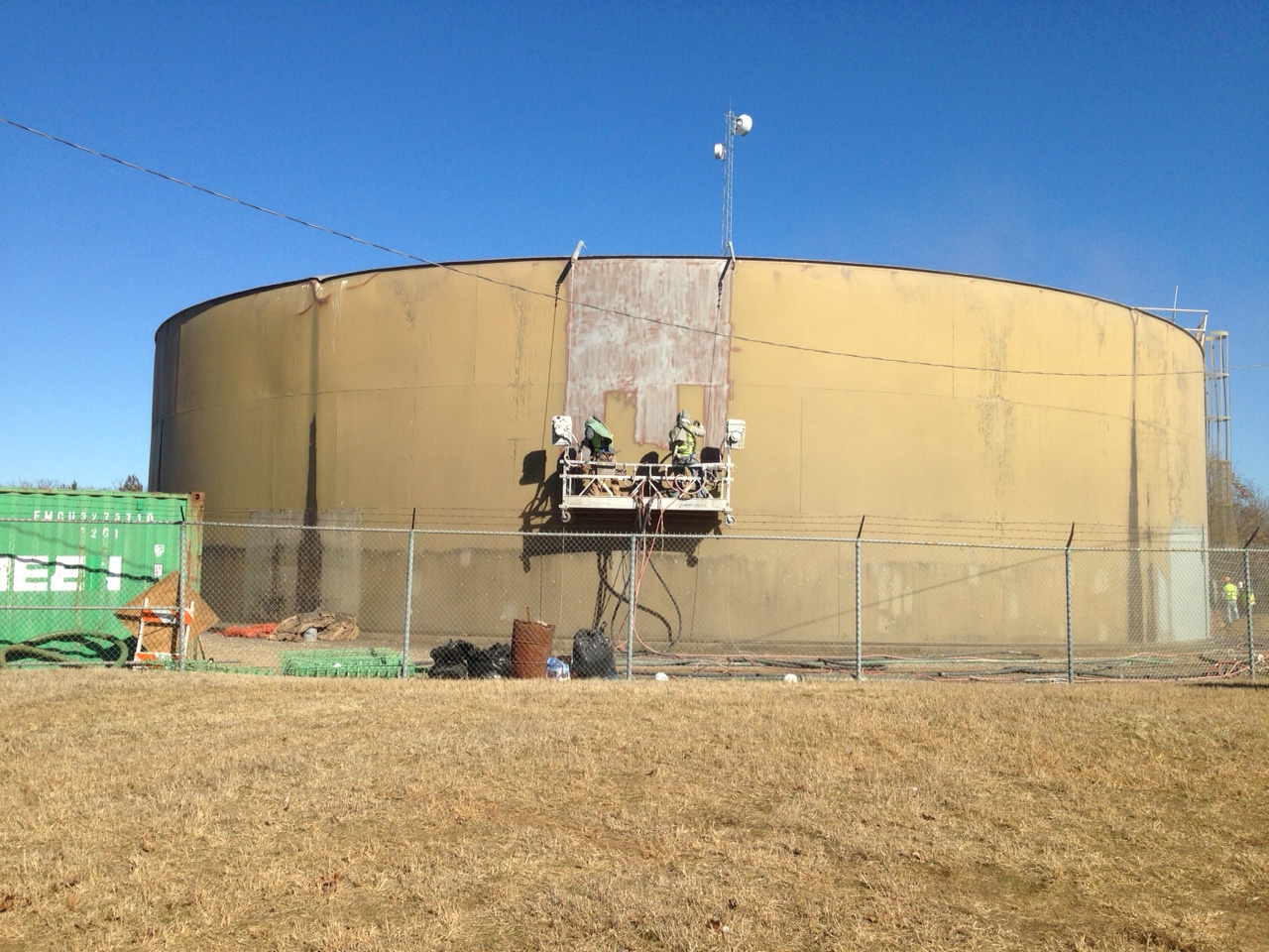 McGee Creek Regulating Tank Renovation. Atoka, Oklahoma